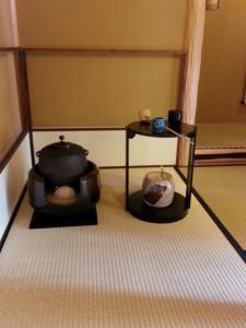 Photo 5. The tools the tea master used.