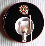 Photo 1. The tools for Bon Ryaku Temae(盆略点前)