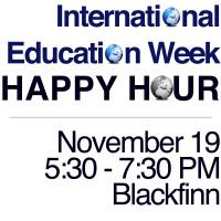 International Education Week Happy Hour on Nov. 19