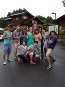 I love all of the friends I was able to make in Japan!