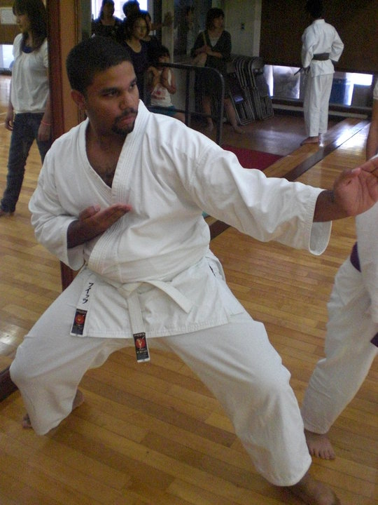 The 1st Karate Test