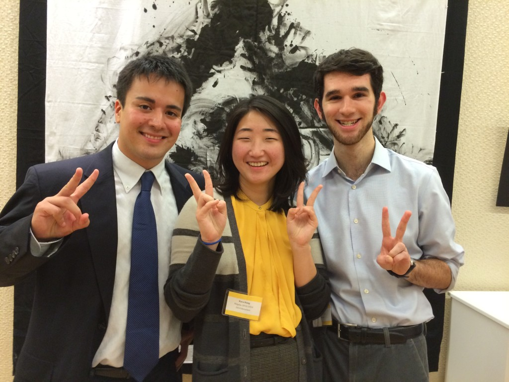 Hanging out with some of my fellow returnees from Niigata at the JETAA DC welcome back reception last September!