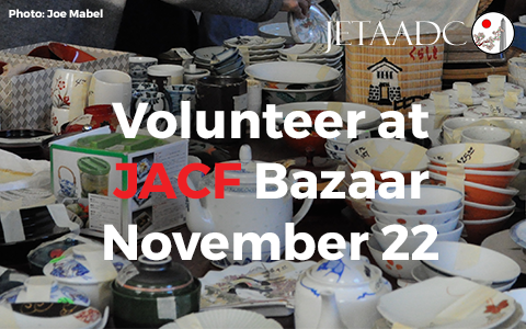 Volunteer at JACF Bazaar November 22