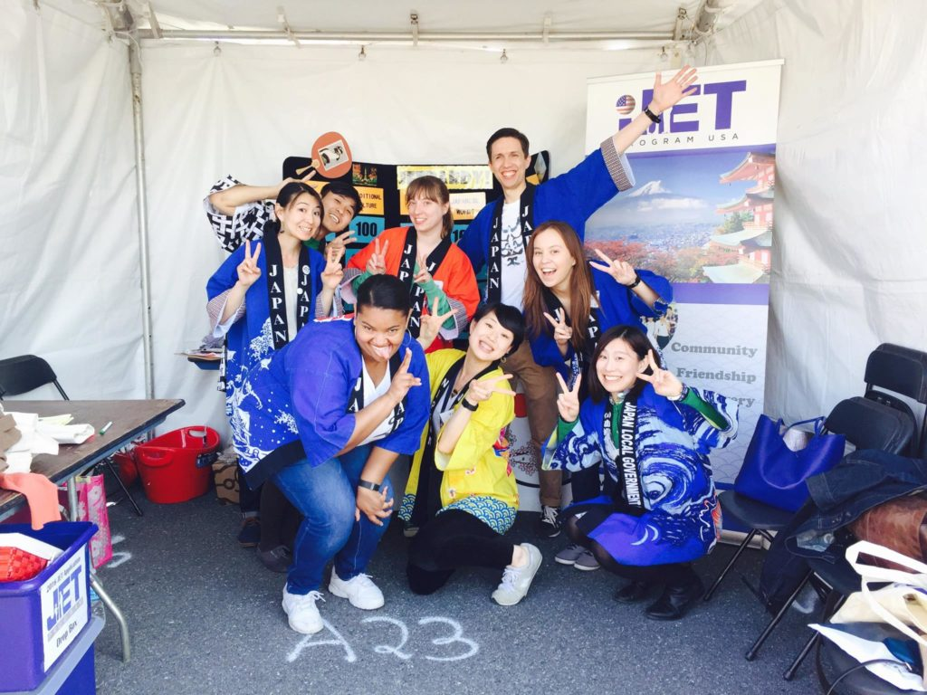 JET Program Booth at 56th Sakura Matsuri