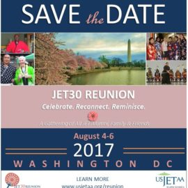 Save the Date! 8/4 – 8/6 – JET30 Reunion in Washington DC