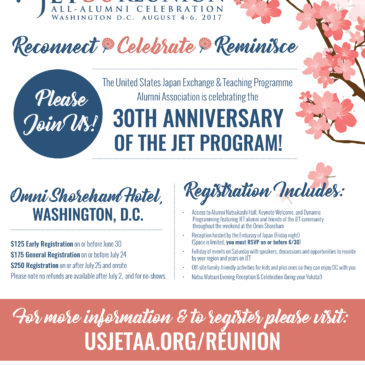 JET30 Reunion Registration Open!