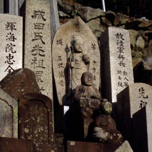 Life on JET: 2007-2016  Paul Champaloux Wakayama 2009-2012  A Visit to the Temple: Walking through a local temple, I was struck by a sense of quiet harmony that pervaded throughout the grounds. I felt it particularly among this plot of tombs where you see tombs both new and old incorporated into a single, seamless commemoration.