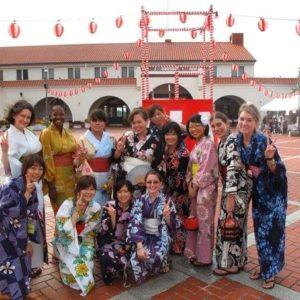 Life on JET: 2007-2016  Beth Slupski Kobe-shi 2008-2011  Yukatas at a summer festival in Kobe.
